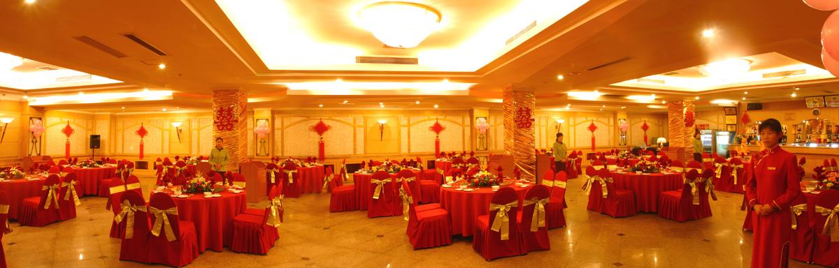 浪漫中国风婚宴现场